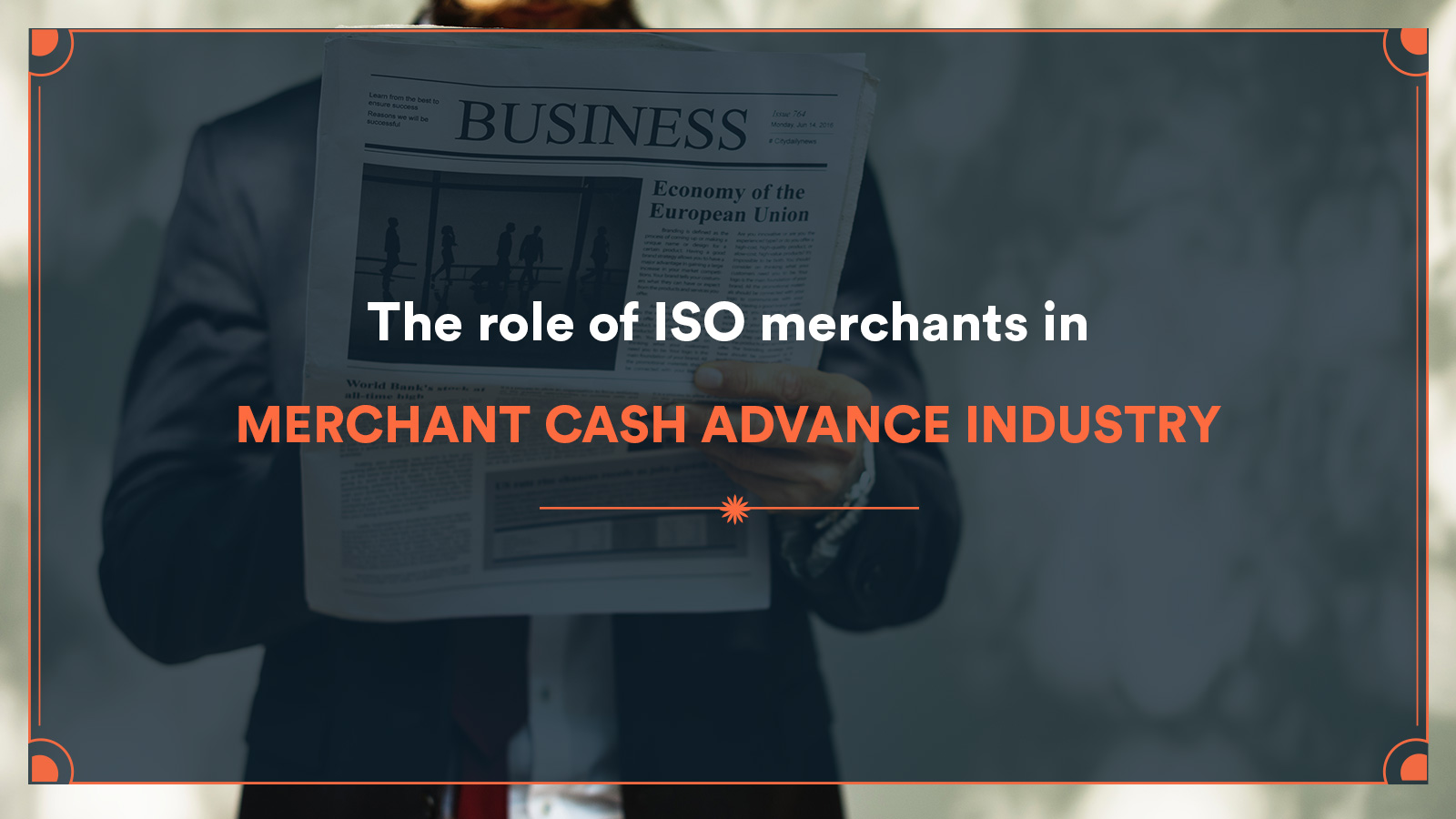 Iso For Merchant Cash Advance Industry