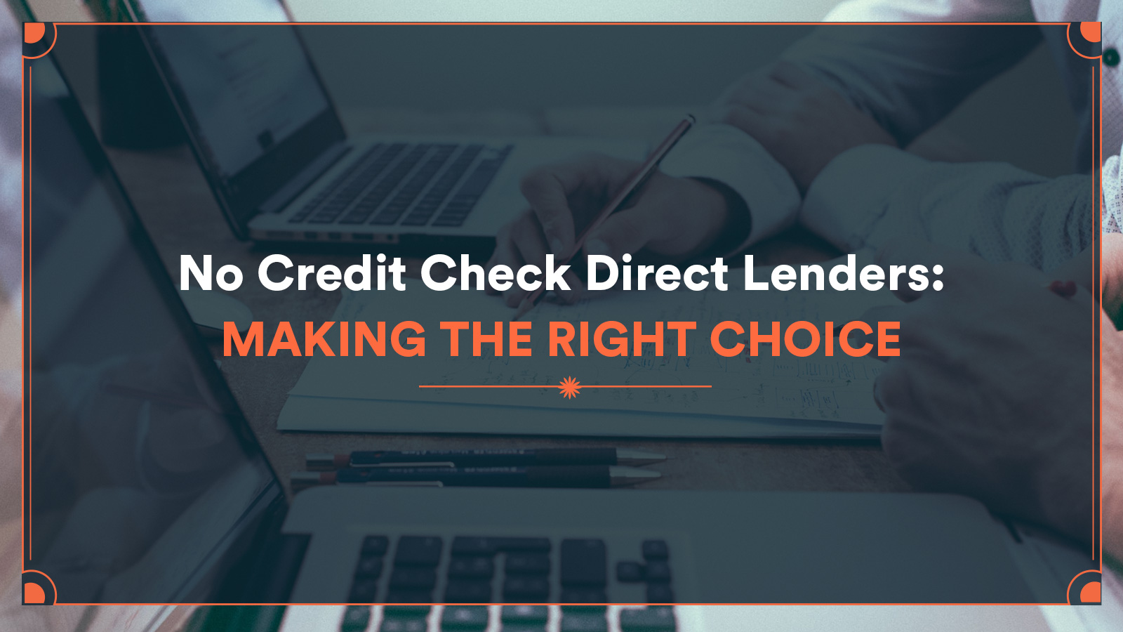 no credit check direct lenders