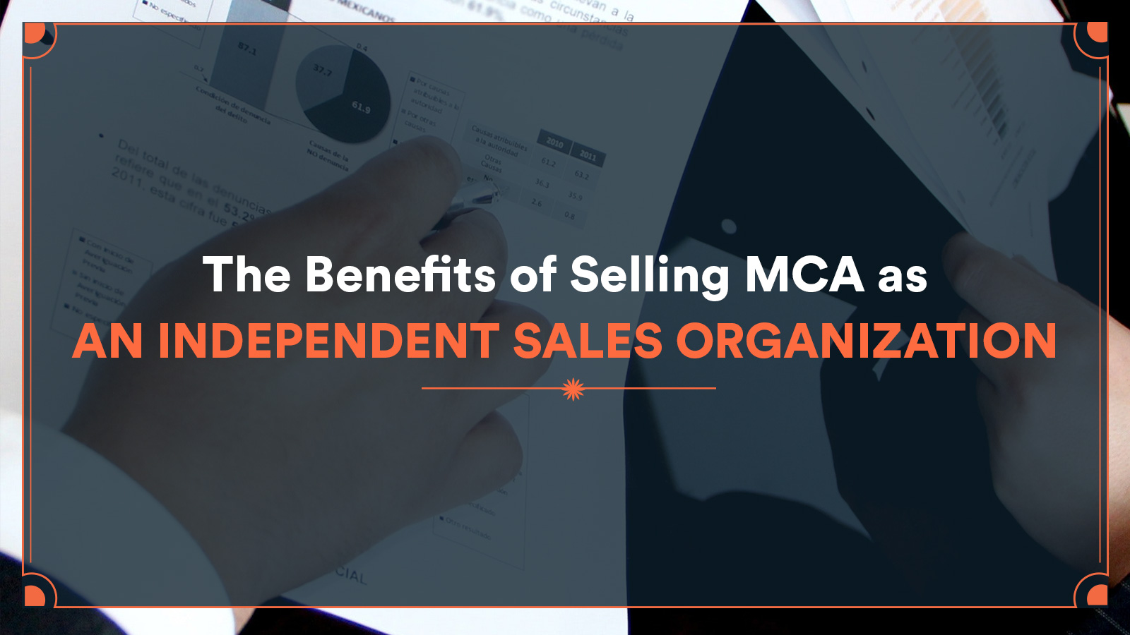 benefits of selling MCA