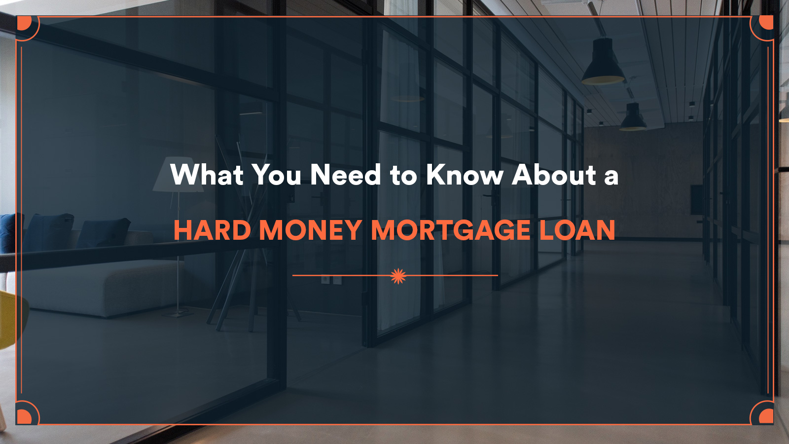 hard money mortgage